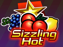 Автомат Sizzling Hot в казино Вулкан Удачи