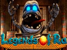 Игровой автомат онлайн с призами Legends Of Ra от Evoplay